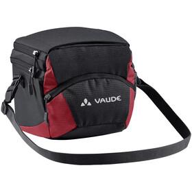VAUDE OnTour Box M Borsa Klickfix ready, nero/rosso
